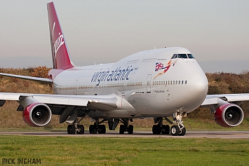 Boeing 747-443 - G-VROY - Virgin Atlantic