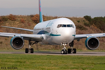 Boeing 767-35ER - G-DBLA - First Choice