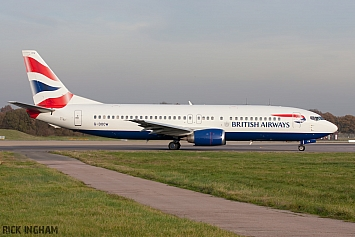 Boeing 737-436 - G-DOCW - British Airways
