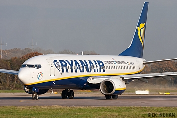 Boeing 737-8AS - EI-DAM - Ryanair