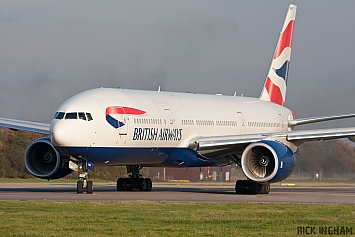 Boeing 777-236ER - G-YMMR - British Airways