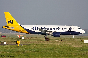 Airbus A320-214 - G-OZBW - Monarch Airlines