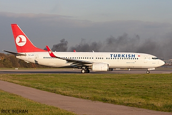Boeing 737-8F2 - TC-JFP - Turkish Airlines