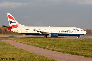 Boeing 737-436 - G-DOCX - British Airways