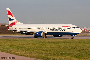 Boeing 737-436 - G-DOCT - British Airways