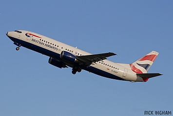 Boeing 737-436 - G-DOCF - British Airways