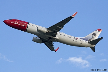 Boeing 737-8JP - LN-DYK - Norwegian Air Shuttle