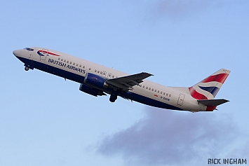 Boeing 737-436 - G-DOCN - British Airways