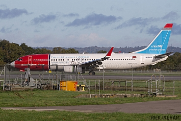 Boeing 737-8JP - LN-NGE - Norwegian Air Shuttle