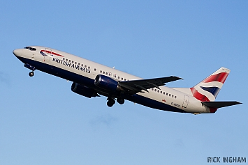 Boeing 737-436 - G-DOCS - British Airways