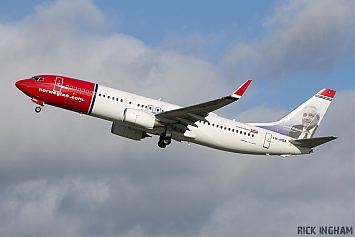 Boeing 737-8JP - LN-NGA - Norwegian Air Shuttle