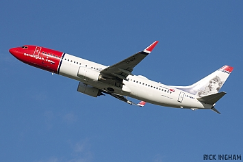 Boeing 737-8JP - LN-NOY - Norwegian Air Shuttle