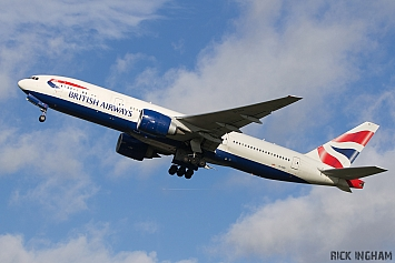 Boeing 777-236ER - G-VIIV - British Airways