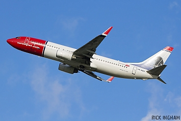 Boeing 737-8JP - LN-NOV - Norwegian Air Shuttle