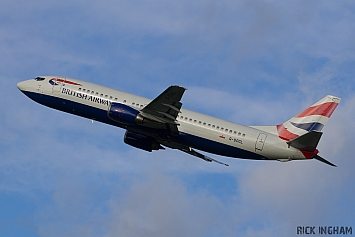 Boeing 737-436 - G-DOCL - British Airways
