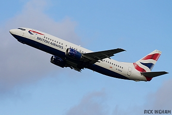 Boeing 737-436 - G-DOCA - British Airways