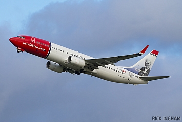 Boeing 737-8JP - LN-DYB - Norwegian Air Shuttle