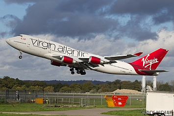 Boeing 747-443 - G-VROM - Virgin Atlantic