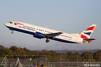 Boeing 737-436 - G-DOCE - British Airways