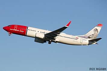 Boeing 737-8JP - LN-DYA - Norwegian Air Shuttle