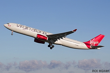 Airbus A330-343X - G-VWAG - Virgin Atlantic
