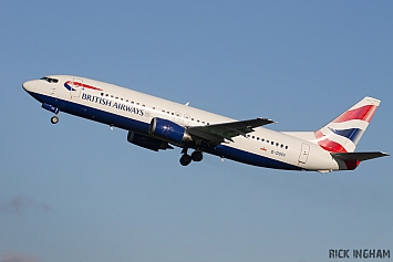 Boeing 737-436 - G-DOCY - British Airways