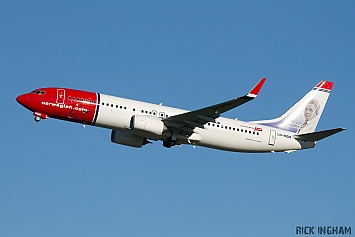 Boeing 737-8JP - LN-NGM - Norwegian Air Shuttle