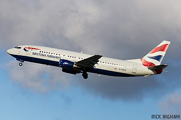 Boeing 737-436 - G-DOCZ - British Airways