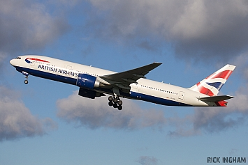 Boeing 777-236ER - G-VIIU - British Airways