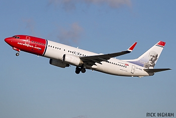 Boeing 737-8JP - LN-NOQ - Norwegian Air Shuttle