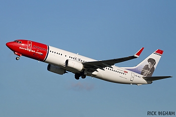 Boeing 737-8JP - LN-NIC - Norwegian Air Shuttle