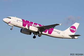 Airbus A320-232 - TF-WOW - Wow Air