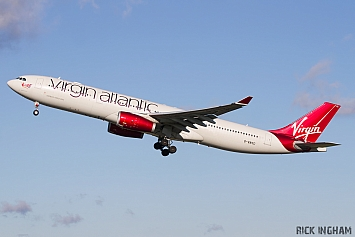 Airbus A330-343X - G-VNYC - Virgin Atlantic