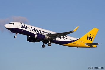 Airbus A320-214W - G-ZBAB - Monarch Airlines
