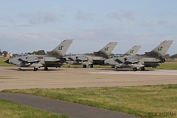 Panavia Tornado IDS -  8306 + 8312 + 7512 + 7507  - Saudi Air Force
