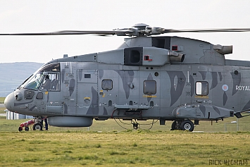 Westland Merlin HM1 - ZH860 - 814NAS - Royal Navy