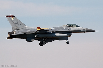 Lockheed Martin F-16C Fighting Falcon Block 52 - 97-0112 - Republic of Singapore Air Force