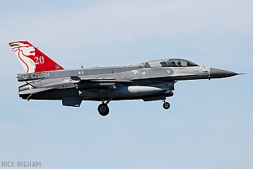 Lockheed Martin F-16D Fighting Falcon Block 52 - 96-5034 - Republic of Singapore Air Force