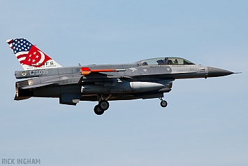 Lockheed Martin F-16D Fighting Falcon Block 52 - 96-5035 - Republic of Singapore Air Force