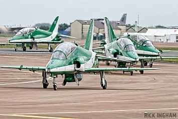British Aerospace Hawk Mk65 - 8807 - Saudi Air Force | Saudi Hawks