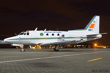 Rockwell Sabreliner 40 (TP86) - 86001 / 861 - Swedish Air Force