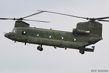 Boeing CH-47D Chinook - D-666 - RNLAF