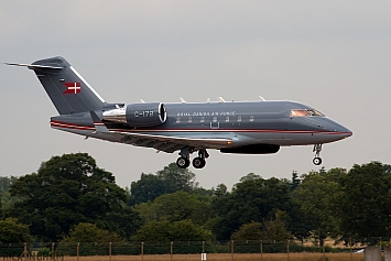 Bombardier Challenger 604 - C-172 - Danish Air Force
