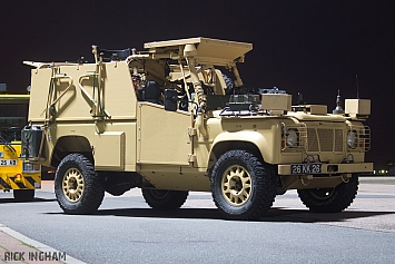 Land Rover RWMIK (Revised Weapons Mounted Installation Kit) - RAF