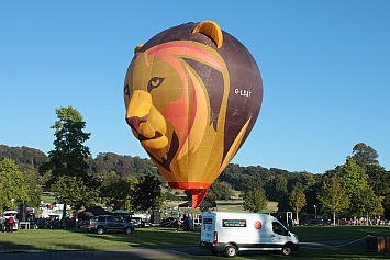 Ultramagic B70 Balloon - G-LEAT 'Simballoon'