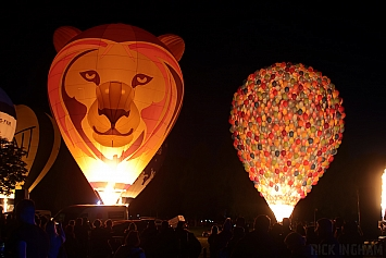Ultramagic B70 Balloon - G-LEAT 'Simballoon' + Cameron TR84 S1 Balloon - G-UPOI