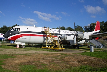 Vickers 953C Merchantman - G-APEP - Hunting Cargo Airlines