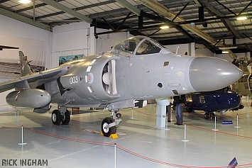 British Aerospace Sea Harrier FA2 - XZ499/003 - Royal Navy