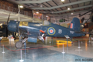 Vought Corsair IV - KD431 - Royal Navy
