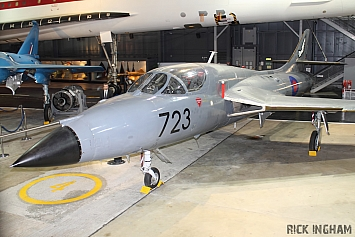 Hawker Hunter T8M - XL580/723 - Royal Navy
